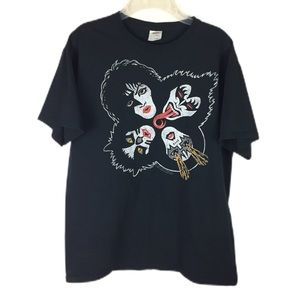 F OF L | KISS Graphic tee clover shape L 2017